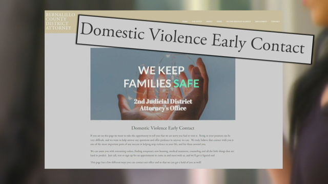 DA launches automated online effort to cut out domestic violence victim wait times