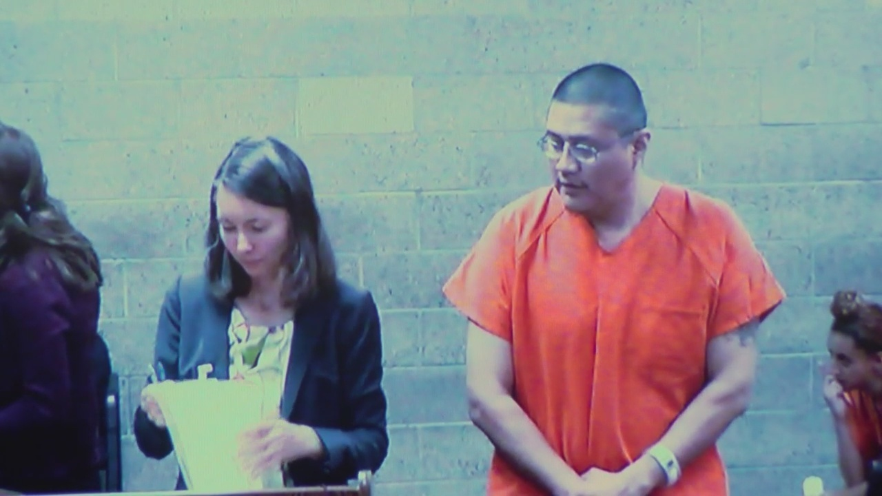 Albuquerque drive-in murder suspect makes first court appearance