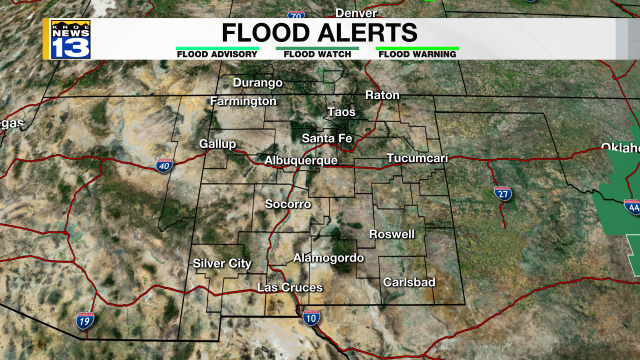 Severe Flood Watches & Warnings