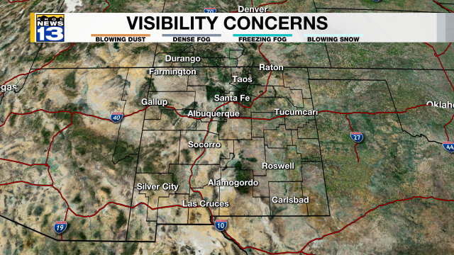 Visibility Concerns